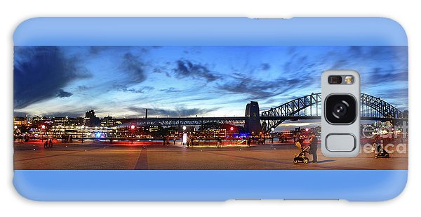 Galaxy Case featuring the photograph Twilight By The Bridge By Kaye Menner by Kaye Menner
