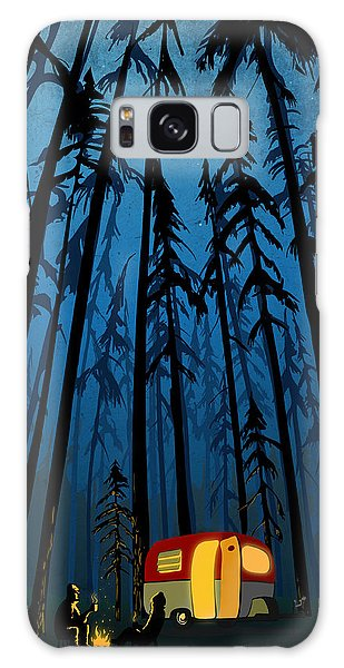 Forest Galaxy Case - Twilight Camping by Sassan Filsoof