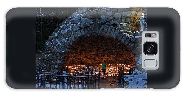 Twilight Grotto Prayer Galaxy Case