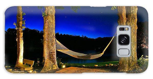 Twilight Hammock Smith Mountain Lake Galaxy Case by The American Shutterbug Society