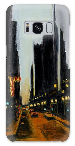 Twilight In Chicago Galaxy Case
