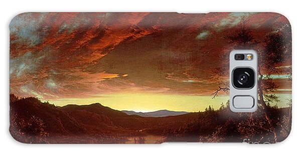 Great Lakes Galaxy Case - Twilight In The Wilderness by Frederic Edwin Church