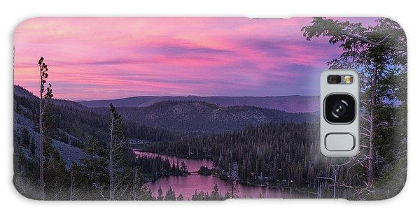 Twilight Mammoth Lakes  Galaxy Case