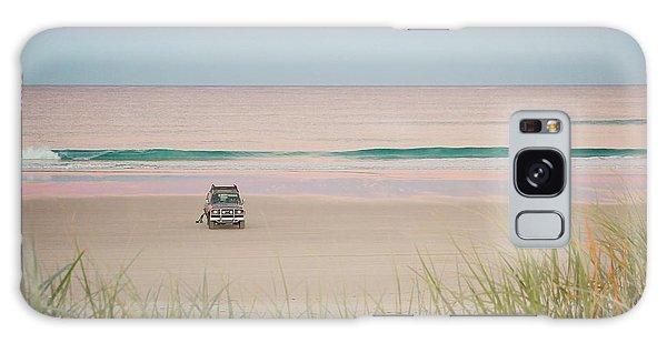 Twilight On The Beach Galaxy Case