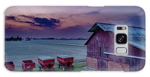 Twilight On The Farm Galaxy Case