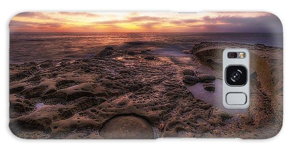 Twilight On The Pacific - California Coast Galaxy Case