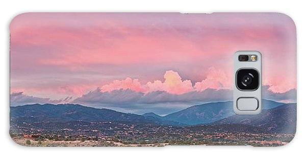 Sangre De Cristo Galaxy S8 Case - Twilight Panorama Of Sangre De Cristo Mountains And Santa Fe - New Mexico Land Of Enchantment by Silvio Ligutti
