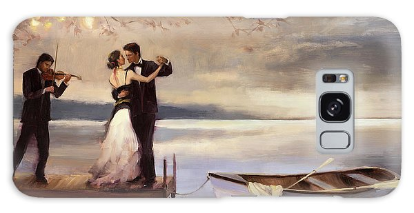 Horizontal Galaxy Case - Twilight Romance by Steve Henderson