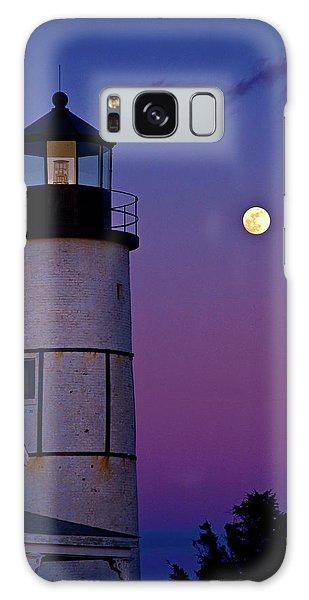 Twilight At Sandy Neck Lighthouse Galaxy Case