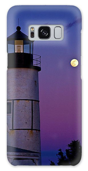 Twilight At Sandy Neck Lighthouse Galaxy Case
