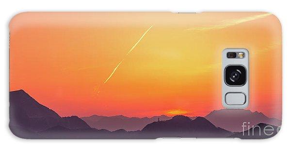 Galaxy Case featuring the photograph Twilight by Tatsuya Atarashi