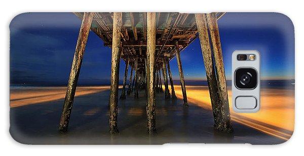 Twilight Under The Imperial Beach Pier San Diego California Galaxy Case
