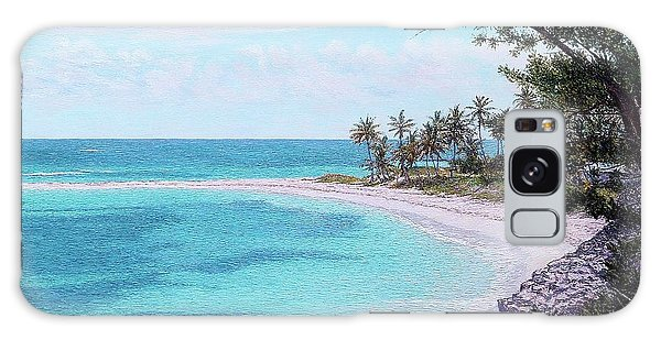 Eleuthera Art Galaxy Case - Twin Cove Paradise by Eddie Minnis