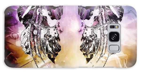Twin Fairies 2 Galaxy Case by Michelle Frizzell-Thompson