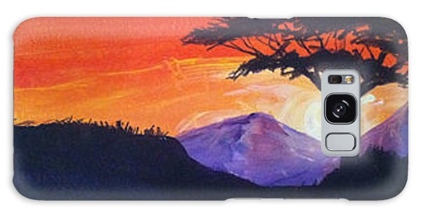 Twin Peaks At Dusk Galaxy Case