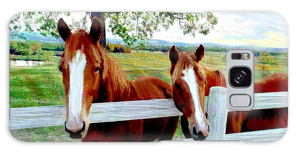 Twin Ponies Galaxy Case