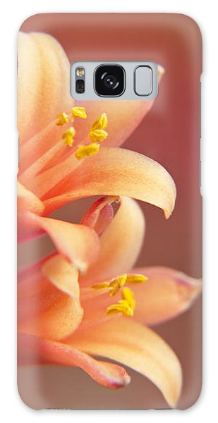 Twin Yucca Flowers Galaxy Case