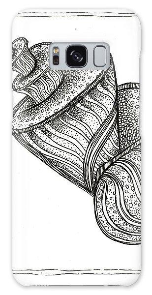 Twirly Shell Galaxy Case