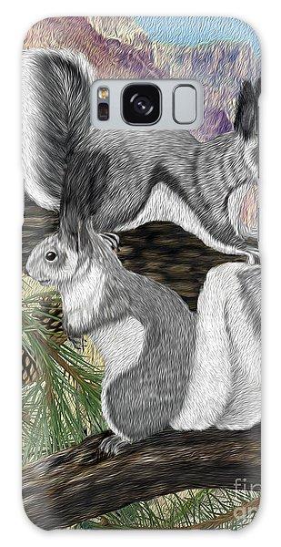 Two Abret Squirrels Galaxy Case