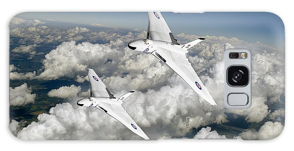 Two Avro Vulcan B1 Nuclear Bombers Galaxy Case