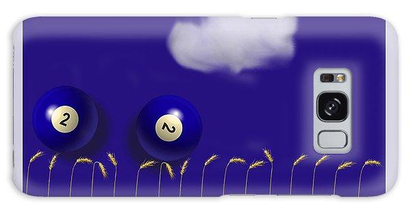 Blue Balls Galaxy Case