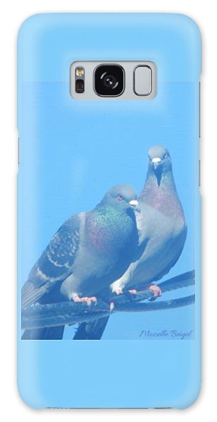 Two Birds In Spring Galaxy Case