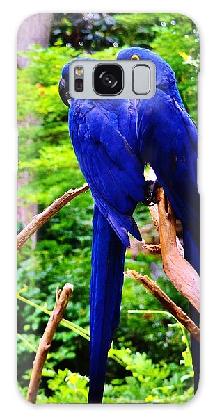 Two Birds Of A Feather Galaxy Case