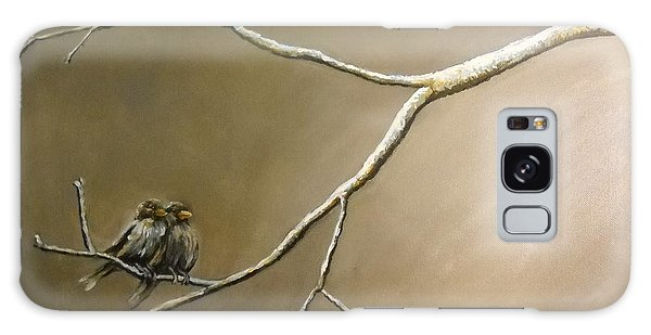 Two Birds On A Branch Galaxy Case