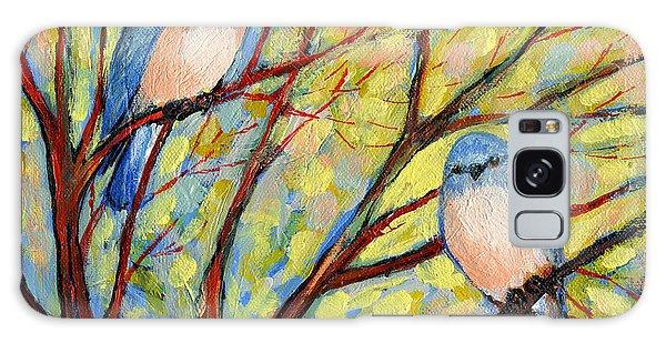 Tree Galaxy Case - Two Bluebirds by Jennifer Lommers