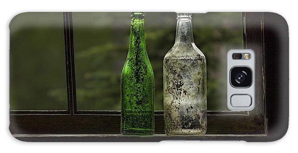 Two Bottles In Window Galaxy Case