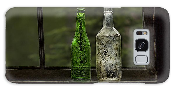 Two Bottles In Window Galaxy Case