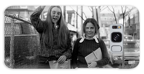 Two Brown Students, Thayer Street, Providence, 1972 Galaxy Case