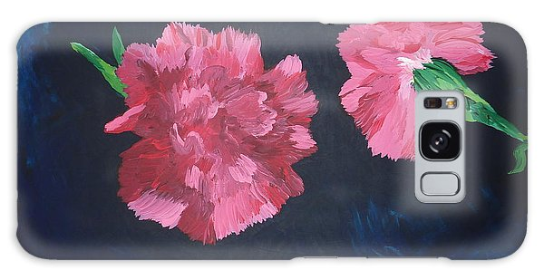 Two Carnations Galaxy Case