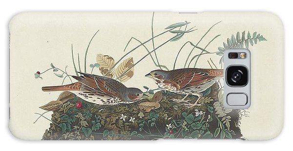 Two-colored Sparrow Galaxy Case by Dreyer Wildlife Print Collections