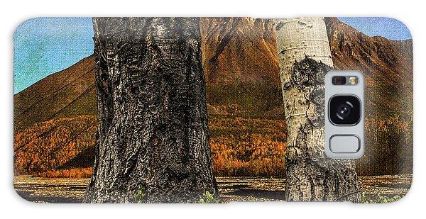 Two Cottonwood Trees And Kinnikinnik Galaxy Case