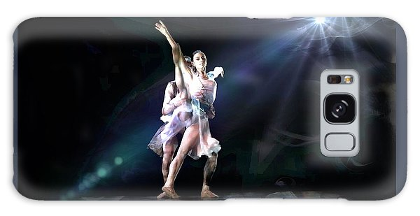 Two Dancers Galaxy Case