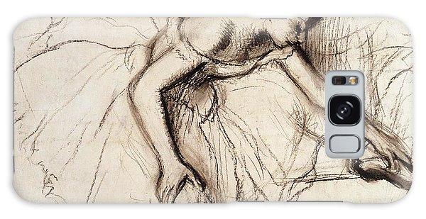 Female Galaxy Case - Two Dancers Resting by Edgar Degas