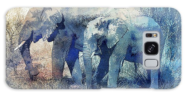 Two Elephants Galaxy Case