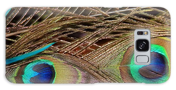 Two Feathers Galaxy Case