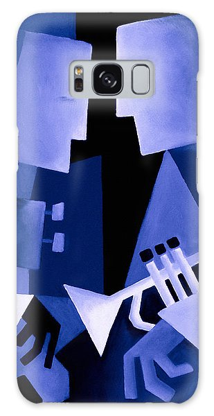 People Galaxy Case - Two For The Blues by Thomas Andersen