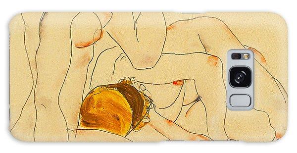 Figures Galaxy Case - Two Friends by Egon Schiele