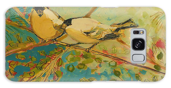 Forest Galaxy Case - Two Goldfinch Found by Jennifer Lommers