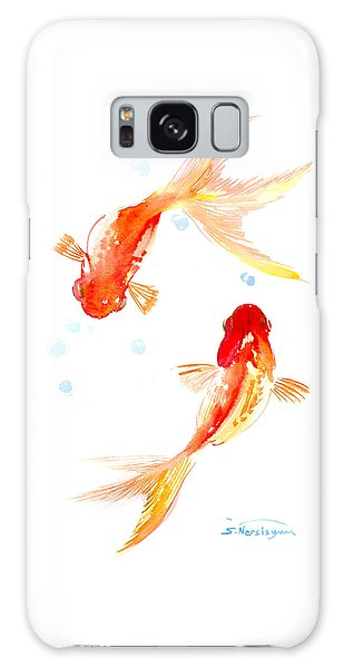 Two Goldfish Feng Shui Galaxy Case