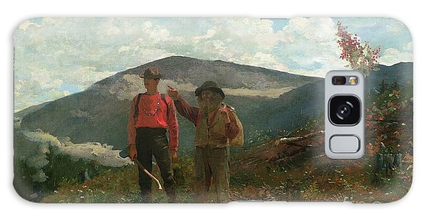 Hills Galaxy Case - Two Guides by Winslow Homer