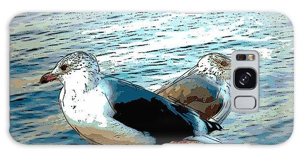 Two Gulls Galaxy Case