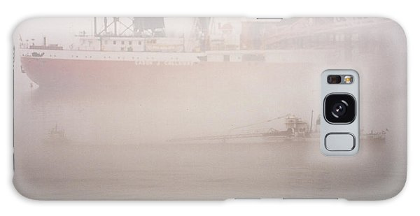Two Harbors Fog Ship II Galaxy Case