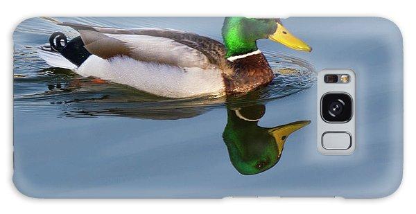 Two Headed Duck Galaxy Case