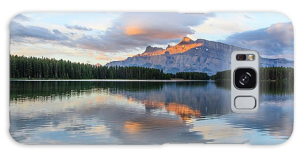 Two Jack Lake, Banff National Park Galaxy Case