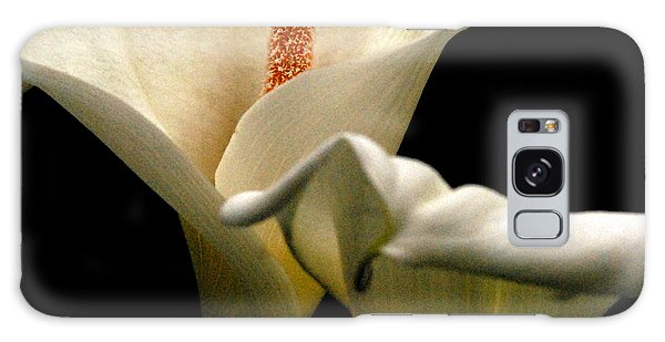 Two Lilies Square Galaxy Case