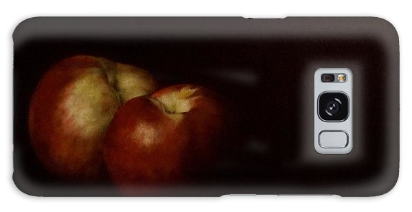 Two Nectarines Galaxy Case